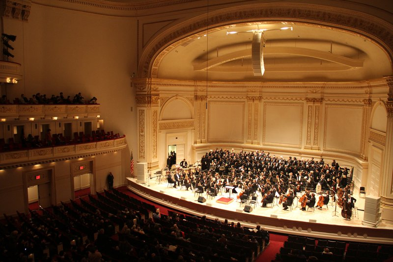 Carnegie Hall by CHING flickr.com