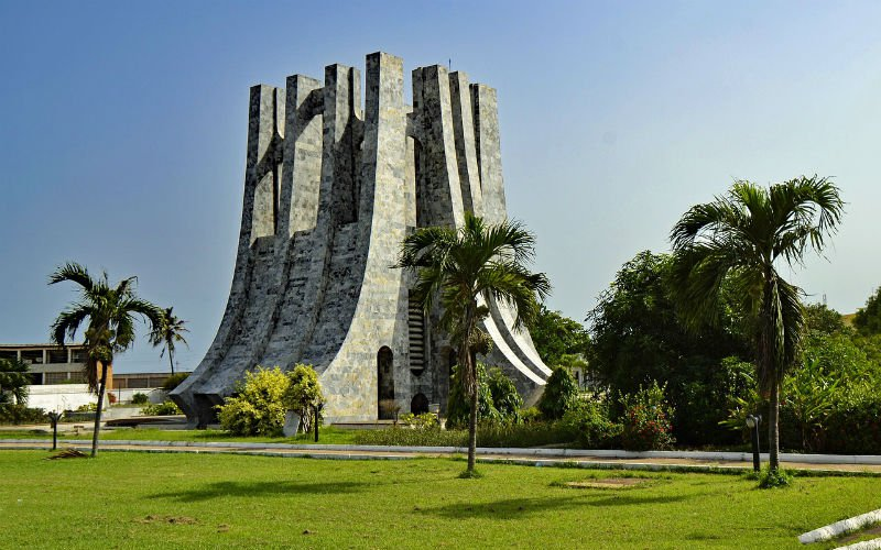 Structure in Accra, Ghana