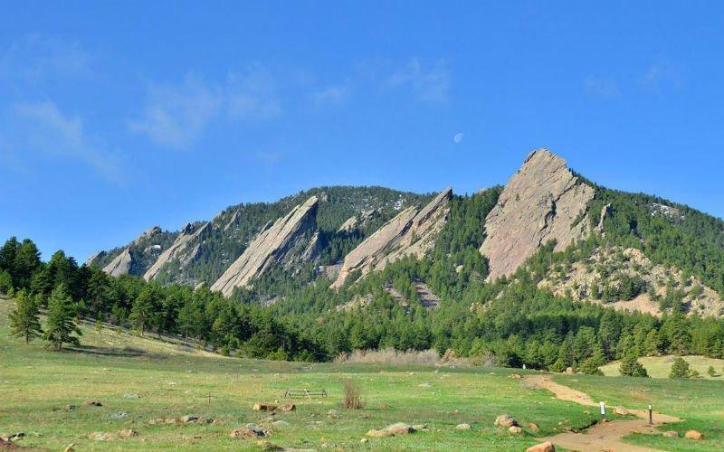 Flatirons in Boulder