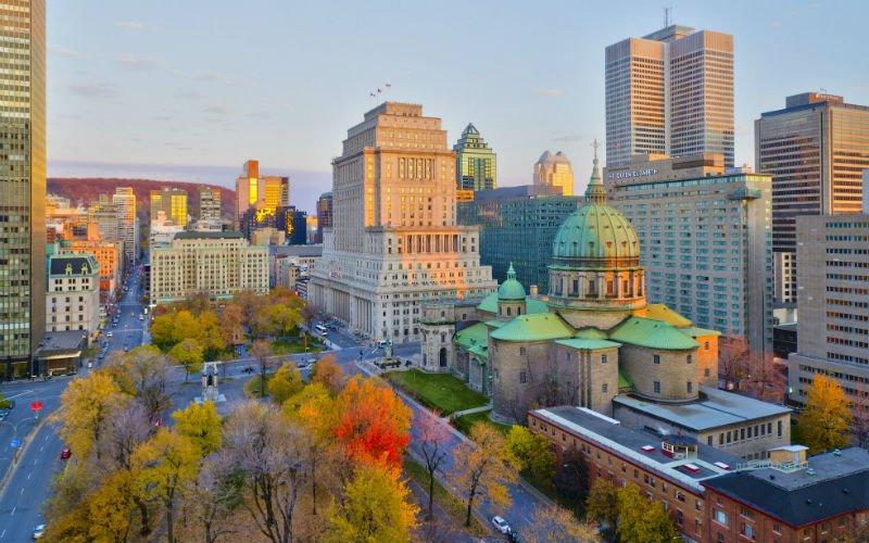 Scene in Montreal