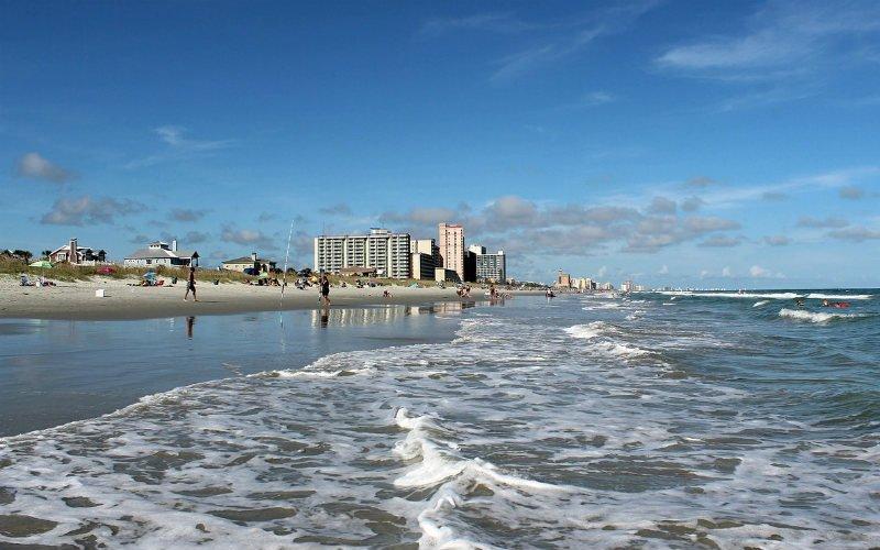 Beach in South Carolina