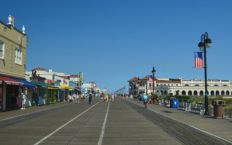 Ocean City, New Jersey, Boardwalk