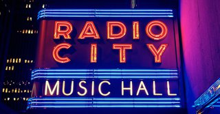 Radio City Music Hall Marquee